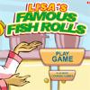 Lisas Famous Fish Rolls Online Puzzle game