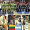 Lithuania Argentina, Quarter Finals, 2010 Fiba World Turkey Puzzle Online Action game