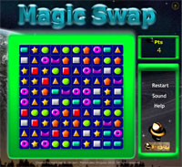 MagicSwap Online Strategy game