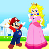 Mario and Princess Peach Dress Up Online Miscellaneous game