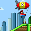Mario Zeppelin Online Adventure game