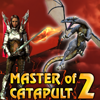 Master of catapult 2 Earth of dragons_ Online Arcade game
