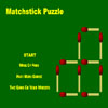 Matchstick Puzzle Online Puzzle game