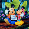 Micky and Friends Find the Alphabets Online Puzzle game
