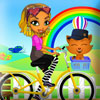 Mina on Bike Online Miscellaneous game