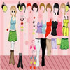 Model Girl Dressup Online Girls game