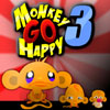 Monkey GO Happy 3 Online Adventure game