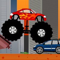 Monster truck destroyer Online Action game