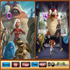 Monsters vs Aliens Similarities Online Puzzle game