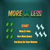 More or Less Online Puzzle game