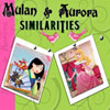 Mulan and Aurora Similarities Online Miscellaneous game