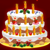New Years Cake Decoration Online Miscellaneous game