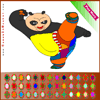 Panda Coloring Online Miscellaneous game