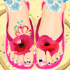 Pedicure Art Studio Online Miscellaneous game