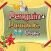 Penguin Parachute Chase Online Adventure game