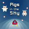 Pigs in the sky Online Arcade game