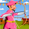 Pink Archer Online Shooting game