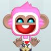 Pink Monkey Dress Up Online Girls game