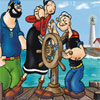 Popeye Find the Numbers Online Puzzle game
