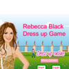 Rebecca Black Black Dress Up Online Strategy game