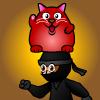 Rucky Cat Barance Ninja Online Arcade game