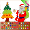 Santa Coloring Online Miscellaneous game