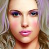Scarlett Johansson Celebrity Makeover Online Arcade game