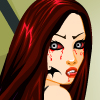 Scary Vampire Girl Dress Up Online Puzzle game