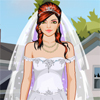 Seashore wedding Dress Up Online Puzzle game