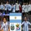 Selection of Argentina, Group B, South Africa 2010 Puzzle Online Puzzle game