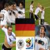 Selection of Germany, Group D, South Africa 2010 Puzzle Online Puzzle game