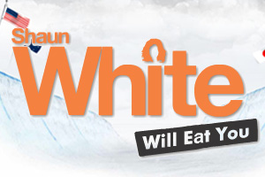 Shaun White Will Eat You Online Adventure game