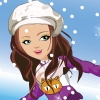 Shining Girl Skiing Dress Up Online Arcade game