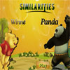 Similarities Winnie and Panda Online Puzzle game