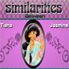 Similarities Tiana and Jasmine Online Arcade game