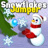 Snowflake Jumper Online Action game