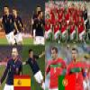 Spain Portugal, Eighth finals, South Africa 2010 Puzzle Online Puzzle game