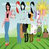 Summer Girl Dressup Online Girls game