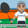 Supa Badminton Online Action game