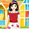 Sweet Flower Girl Online Puzzle game