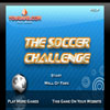 The Soccer Challenge Online Arcade game
