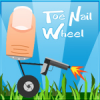 Toe Nail Wheel Online Shooting game