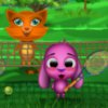 Toto and Sisi Play Tennis Online Miscellaneous game