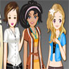 Triplets Doll Dressup Online Miscellaneous game