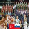 Turkey Slovenia, Quarter Finals, 2010 Fiba World Turkey Puzzle Online Action game