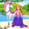 White Horse Princess Online Miscellaneous game