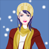 Winter Girl Dress Up Online Miscellaneous game