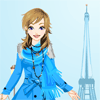 Winter in Paris Dress Up Online Action game