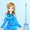 Winter in Paris Dress Up Online Action game