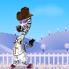 Zebra dressup Online Miscellaneous game